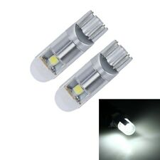 2 PCS T10 2.5W 200 LM 6000K 3 SMD-3030 LEDs Canbus Car Clearance Light Lamp, DC