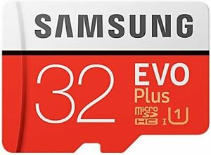 Samsung EVO Plus 32 GB microSDHC UHS-I U1 80 MB/s Full HD Memory Card Adapter_UK