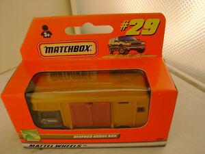 1999 MATCHBOX SUPERFAST #29 Bedford Caballo Caja Camión Nuevo en Caja