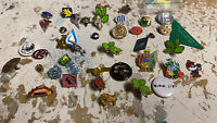 JOB LOT BUNDLE OF ASSORTED BADGES PINS AS PICS FOUND 2