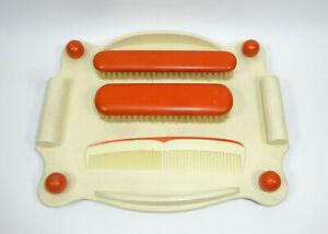 Art  Deco Bauhaus Kleiderbürsten Set Bürtse Kamm mit Ablage Marianne Brandt zug.