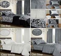 3 Piece Jacquard Quilted Bedspread Comforter/ Throw Bedding Set + 2 Pillow Shams