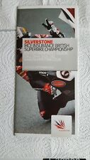 SILVERSTONE.....BRITISH SUPERBIKES.....ENTERTAINMENT GUIDE 2011.  NEW..