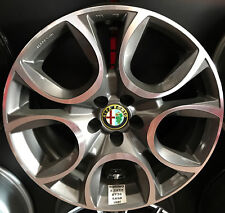 "CERCHI IN LEGA 17"" MAK TORINO X FIAT 500L - ALFA 147 156 MADE IN ITALY OMOLOGATI"