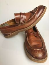Sperry Gold Cup Mens Loafers Size 11 Lambskin Leather Slip On Boat Shoes