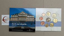 2017 9 monete EURO 5,88 LUSSEMBURGO Luxembourg Luxemburg Letzebuerg Esch Alzette