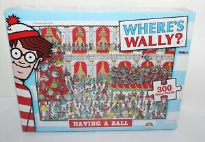 Where's Wally Having A Ball Jigsaw Puzzle 300 Brand New & Sealed Crown Age 6+