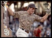 2020 Topps Series 2 Base Gold #370 Seth Mejias-Brean /2020 - San Diego Padres