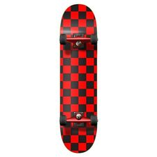 Yocaher Graphic Complete Skateboard - Checker Red