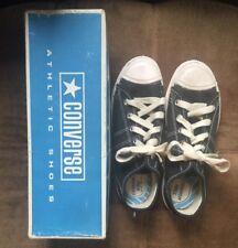 0a26e309d0b Vtg 60s Black Blue Unisex Comfort Arch Boys Fast Break Converse 3.5