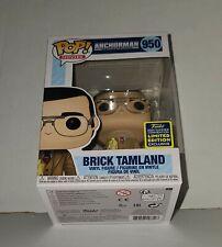 New ListingBrick Tamland #950 (Anchorman): Funko Pop Movies Sdcc Shared w/Protector