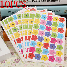 400PCS Lots Smile Stars Decal School Children Kids Teacher Label Reward Sticker