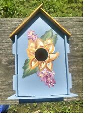 #1 Beautiful Handcrafted Painted Birdhouse
