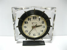Soviet Russian Vintage MOLNIJA Table Clock 1 class USSR CCCP LAST CENTURY