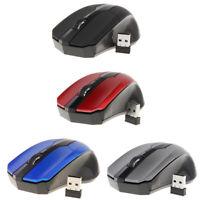 Souris ergonomique optique de souris sans fil Bluetooth mobile avec récepteur