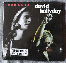 David Hallyday, ooh la la / don't bring me down, SP - 45 tours pochette ouvrante