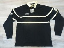 Guinness Irish Stout Beer Rugby Long Sleeve Shirt 2XL 2X NEW