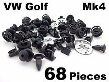 Assortiment de commun trim clips & fixations pour vw golf MK4 - 68 pièce kit