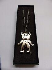 # Georg Jensen Ornament an Kette Weißgold 2003 Teddy 3405057 ohne OVP
