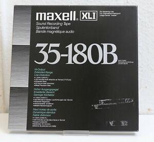 "maxell XL1 35-180B - reel to reel tape - Tonband - 1/4"" - Aluspule NAB"