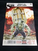Original Sin Hulk Vs. Iron Man #1 Marvel Comics  VF Avengers