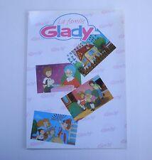 Prospectus ancien catalogue dessin animé La famille Glady Family poupée doll