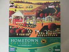 Hometown Collection Cambria Farmers Market 1000 Piece Puzzle New