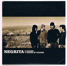 NEGRITA L'UOMO SOGNA DI VOLARE  CD SINGOLO cds PROMO