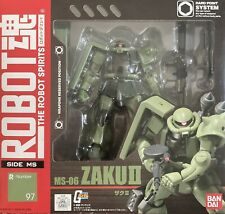 Bandai Gundam Robot Spirits Zaku Mass Production Weapon Action Figure MSIA