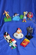 McDONALDS - MIXED LOT OF 10 CHARACTERS TOYS -