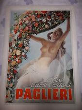"""MANIFESTO ORIGINALE """"PAGLIERI DAI FIORI...."""" 1946  RARITA' cm.70x95 BOCCASILE"""
