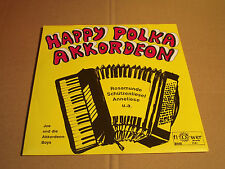 "JOE UND DIE AKKORDEON-BOYS - HAPPY POLKA AKKORDEON - 7"" (11)"