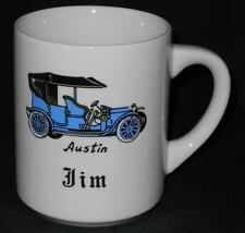 Austin ~ Car Automobile ~ Personalized Name ~ Jim ~ Coffee Cup Mug