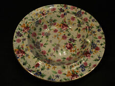 "NICE ROYAL WINTON ""OLD COTTAGE"" CHINTZ BUTTER DISH BASE"