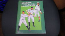 Tom Tierney Legenary Baseball Stars Paper Dolls New