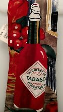 TABASCO BOTTLE TIE w/ Watermark Logo Hot Pepper Sauce New with Tag