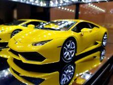 Lamborghini Huracan LP 610-4 BBURAGO Yellow Metal Diecast scale 1/18
