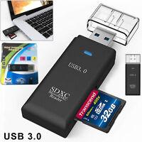 USB 3.0 Micro SD Card Reader T-Flash SDHC SDXC SD Card Reader Memory Card Reader