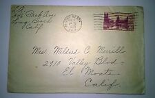 #742 FDC Mt. Rainier 3 cent - Long Beach Stamp Collectors Club posted 09/01/34