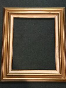 """Vintage Large Gold Wood Picture Frame 16""""x20"""" Overall 24""""x 28"""""""