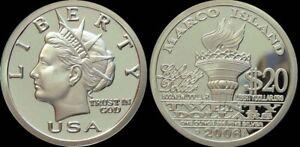 2006 MARCO ISLAND NORFED medallion Flawless