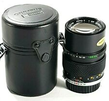 Olympus OM Zuiko Auto T 135mm F3.5 Prime Lens with Case UK Fast post