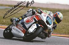 Xavier Simeon Hand Signed Federal Oil Gresini Suter 12x8 Photo 2014 Moto2 7.