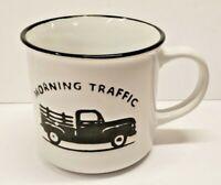 Morning Traffic Ceramic Coffee Mug Truck Design