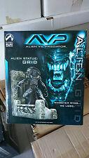 AVP Grid Alien Statue by Palisades Toys **BNIB**