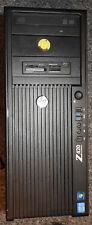 HP Z420 32GB Xeon E5-1620 3.6GHz 64GB SSD 500GB HDD Quadro 600 DVD-RW Win10 Pro
