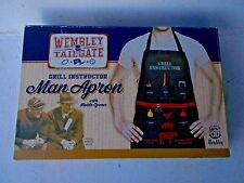 New listing Man Apron-Retro Grill Instructor - Wembley Tailgate - Legends of the Game!