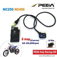 Adjustable Racing CDI NC250 NC450 Zongshen DC 8 Map Unlimited Ignition igniter