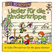 DIE 30 BESTEN LIEDER FÜR DIE KINDERKRIPPE - Neu & cellophaniert!