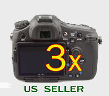 3x Clear LCD Screen Protector Guard Cover Film For Sony Alpha SLT-A77 Camer